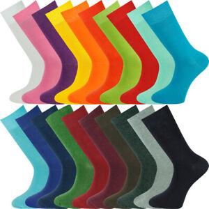 Mysocks 5 Pairs Plain Socks Combed Cotton Seamless Toe