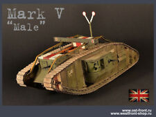 "PRO-BUILT 1/35 MK.V ""Male"" WW1 tank model (PREORDER)"