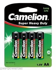 100 x Camelion AA R6 Mignon Batterie Super Heavy Duty Grün Blister 1,5V
