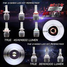 Stark APX 45W 4800LM LED Motorcycle Headlight Kit Bulb or Bulbs 6000K 6K White