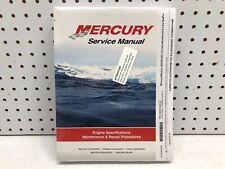 New Sealed Mercury Mariner 225 / 250 EFI 3.0 Litre Service Manual 90-822900R3