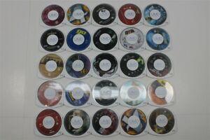 Lot of 25 PSP UMD Movies - Alien, Black Hawk Down, Open Season