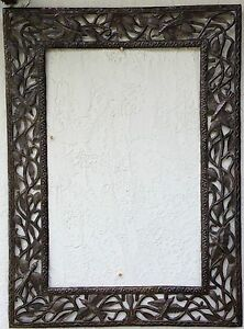 Sculpted MIRROR FRAME Wall Hanging, HUGE, NEW Contemporary or Rustic