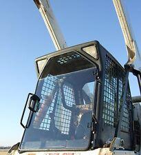 "Bobcat S185 S205 S250 S285 T300 1/2"" LEXAN Door+SIDES! skid steer Cab Enclosure"