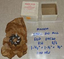 "Niagara Hss Shell End Mill, 3/4"" I.D. 1-3/4"" x 1-1/4"" x 3/4"" In Box"