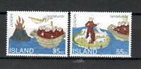 S33962 Island Iceland MNH 1994 Europa Discoveries 2v