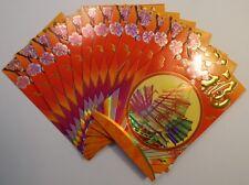 12 Pcs Lucky Money Envelopes (Red Packets Hong Bao) 一帆风顺