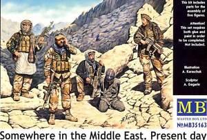 MB Masterbox Somewhere IN The Middle East 1:3 5 Iraw Priosoner Prisoner