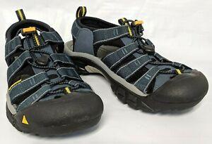 KEEN Outdoor 1001938 Men's Newport H2-M Navy / Medium Grey Hiking Sandals Shoes
