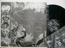 "V/A: BRAZILLIAN EVIL LEGIONS ATTACK -12"" LP- The first Manifest - Sheitan -"