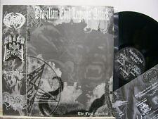 "V/A: BRAZILLIAN EVIL LEGIONS ATTACK -12"" LP- The first Manifest - Sheitan -"
