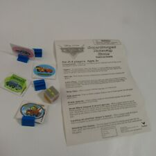 Cars Supercharged Raceway Board Game Replacement Pieces Instructions Dice Tokens