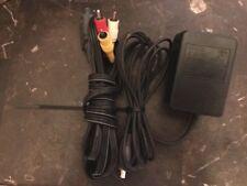 Super Nintendo SNES AC Adapter OEM Power Supply System Cord & Official RCA AV