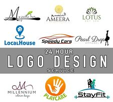 Professional Logo Design, Cheap/Fast/Reliable, 3 Revisions, 24HR Service