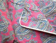 Ralph Lauren Azalea Pink Paisley Studio Pillow Sham Standard or Euro New