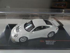 IXO PORSCHE 911 GT3 R WHITE VERSION READY TO RACE MODELLAUTO 1:43 in BOX OVP