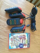 Playstation 2 Buzz Game And Controllers