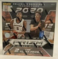 2020 Prizm Collegiate Basketball Draft Picks Mega Box-Guaranteed Auto Autograph