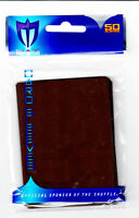1000 Max Pro Deck Guard Protectors Gaming Standard MTG Sleeves Chocolate Brown