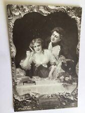 CPA Madame sans gêne et le maréchal Lefebvre - Salon 1911