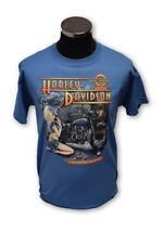 Brand New Men's Harley Davidson Genuine Service Robin Hood Dealer T-shirt