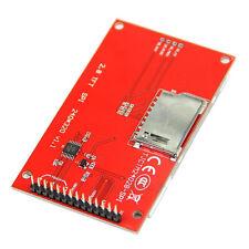 """2.8 """" 240x320 SPI LCD TFT seriale PORT MODULI + PCB ILI9341 5V/3.3V"""
