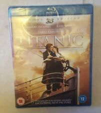 Titanic 3D Blu Ray And 2D Blu Ray Collectors Edition New Sealed