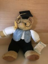 Hallmark Money Presenter Porte Billet Graduation Bear Plush Stuffed Animal B7