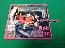 "Bob Dylan Leopard-Skin Pill-Box Hat Netherlands 7"" Single CBS Piranha Records"