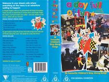 A DAY FULL OF  FUN VIDEO PAL VHS A RARE FIND~