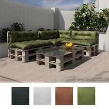Palettenkissen Set Indoor Outdoor Palettenauflage Palettenpolster 120x80 120x40