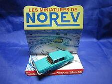 DV6267 NOREV RENAULT 10 R10  BERLINE PLASTIQUE VERT Ref 9 1/43 TBE
