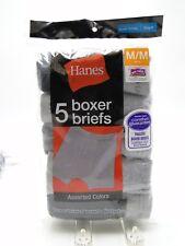 5pr Boy's Hanes Color Boxer Briefs Medium 10-12