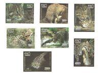 Cambodia Khmer 2019 Stamps Prionailurus Viverrinus Fishing Cat 7V