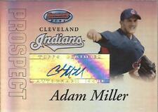 ADAM MILLER 2007 Bowman's Best Prospect Autograph