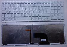 Teclado sony vaio sve1513b1ew sve151g13m sve152 retroiluminada iluminación Keyboard