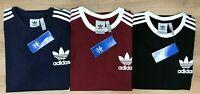 Men's Adidas Original  Short Sleeve Crew Neck T-Shirt 100% Cotton