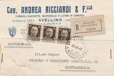 AVELLINO - Cav.Andrea Ricciardi e F.llo 1939