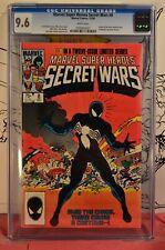 Marvel Super Heroes Secret Wars #8 CGC 9.6 1st Spider-Man Black Costume Venom