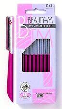 KAI Razor for Women's Face Eyebrow Shaving Care Stainless M size Japan Import