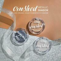 Makeup Metallic Matte Eyeshadow Palette Cosmetic Shimmer Pigment Glitter R5M9