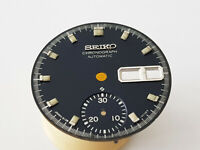 ORIGINAL DIAL FOR SEIKO CHRONOGRAPH AUTOMATIC 6139 POGUE Blue Dial Spare 3.
