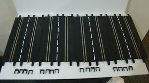 1/32 1/24 Carrera Evolution ExclusiV 4-Straight Track Sections w/16 Track Clip*