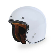 Torc Route 66 T50 White 3/4 Open Face Helmet Large