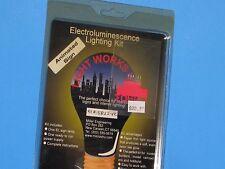 "Light Works USA, HO Electroluminescence Lighting Kit, ""Motel"" #15822-R ANIMATED"