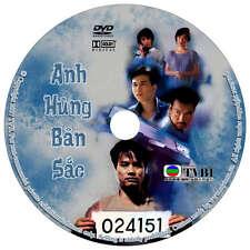 Anh Hùng Bản Sắc 1998 - War of the Dragon - Phim Bo Hong Kong TVB DVD - USLT