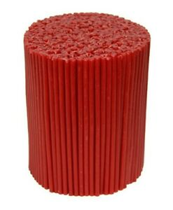 Red Beeswax Candles 55-135 Pcs, Church Candles, High Quality, Scented Candles