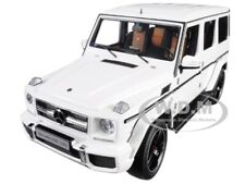 MERCEDES AMG G 63 GLOSS WHITE 1/18 MODEL CAR BY AUTOART 76321