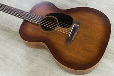 Martin 15 Series 000-15M Burst Solid Mahogany Acoustic Guitar Natural w/ Case