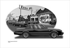 1987 Buick Grand National Muscle Car Garage Art Print 120509